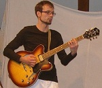 Maik Dietze - Gitarrenlehrer Leipzig beim Klimperkoffer